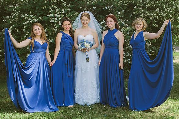 Фото платьев для подружек невесты в греческом стиле