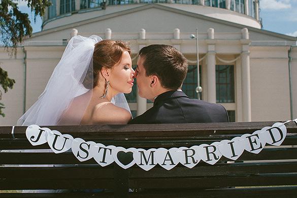 Молодожены Ирина и Алексей. Свадебное торжество в салоне GraceEvening