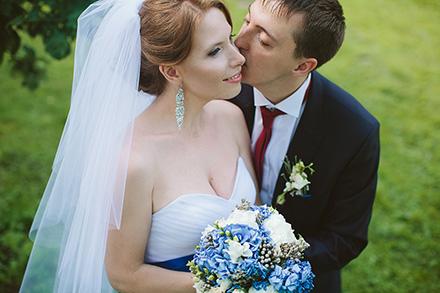 Ирина и Алексей. Нежность поцелуя