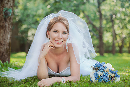 Самая очаровательная невеста Ирина фото
