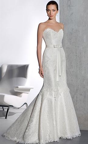 Свадебные платья в стиле рыбка GraceEvening