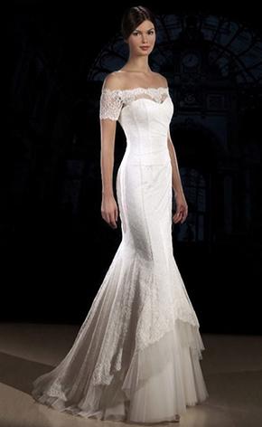 Свадебное платье русалка GraceEvening