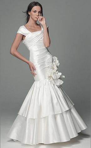 Свадебные платья фото русалка GraceEvening