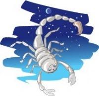 Скорпион - короткое ажурное платье Мануэлла