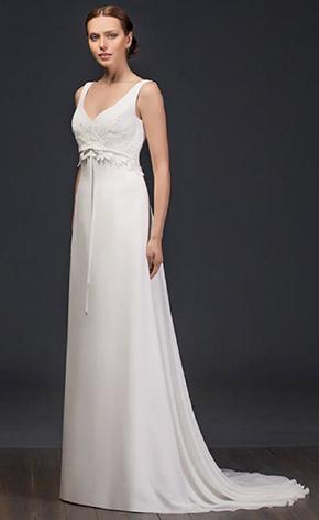 Свадебные платья ампир GraceEvening