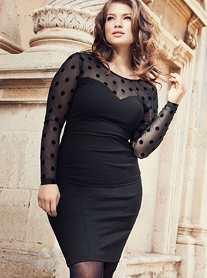 Plus size модель Тара Линн