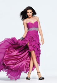 платье короткое длинное