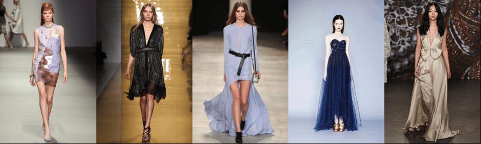 Вечерние платья -дресс-код
