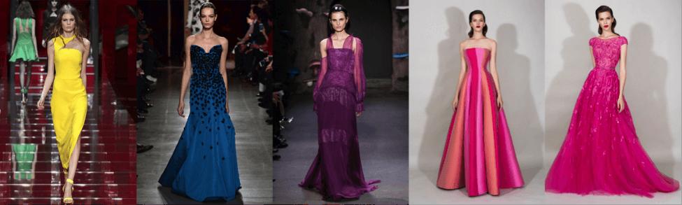 Вечерние платья - розовые платья
