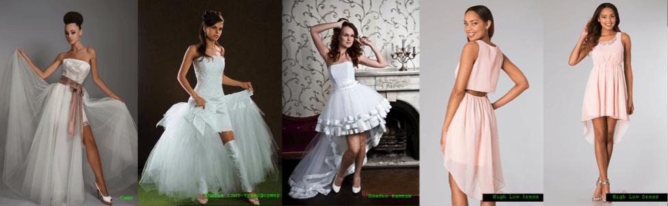 Выпускное платье разные стили