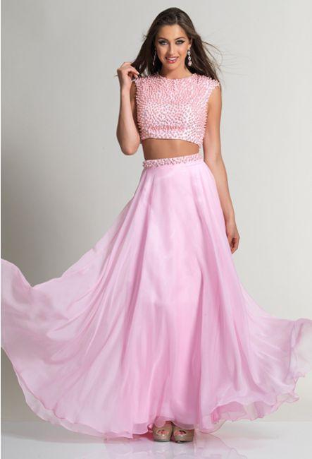 Платье юбка и топ в пол