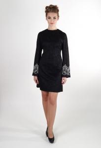 Платье деловое для полных 2015