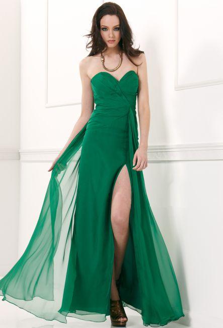 Вечернее платье в пол Анжелика зеленое - GraceEvening.ru (Москва) 846b748739b