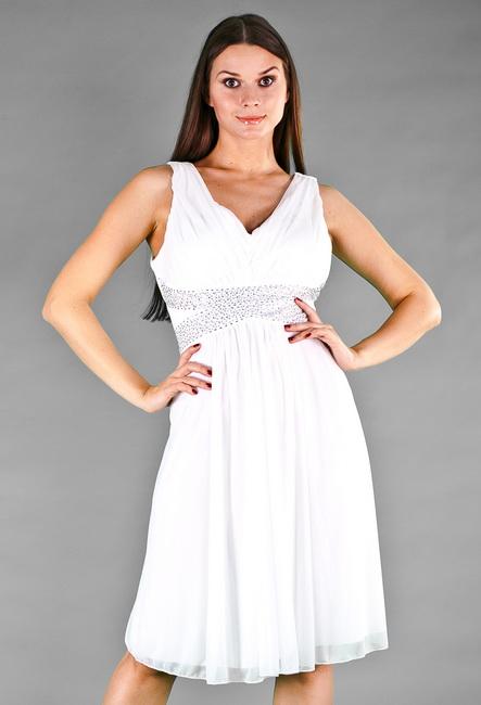 Вечернее белое платье для беременных купить