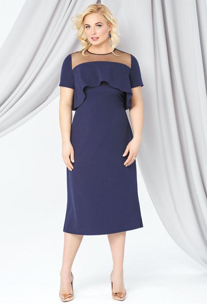 Картинка вечернее платье для полных женщин в