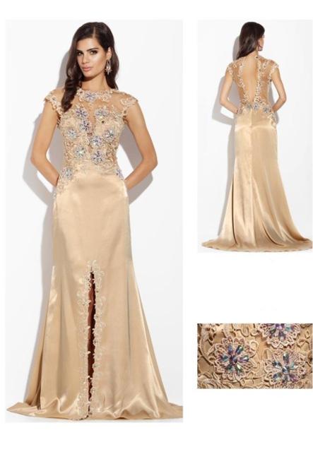 Вечернее платье со шлейфом Августина - GraceEvening.ru (Москва) 91429fb1505